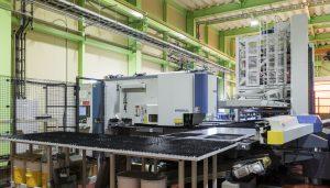 大型レーザーパンチプレス複合機を導入しました