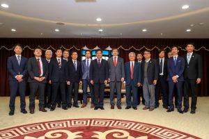 NSCA members visited Taiwan.