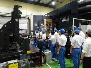 新潟工業高校の皆様が工場見学に来られました