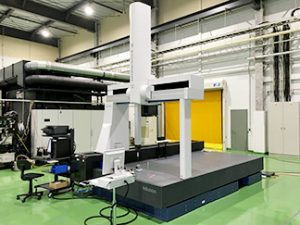 The installation of a large, three-dimensional measuring device capable of measuring up to 3000 mm