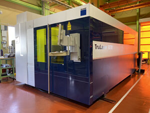 Introduced large laser cutting machine